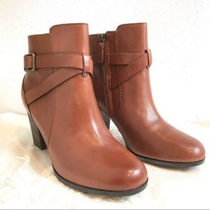 Cole Haan Grande Os Hinckley Leather Ankle Boot